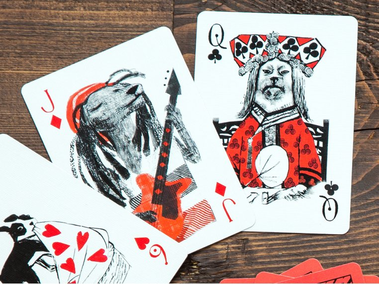 Pack of Dogs Playing Cards by Artiphany - 1