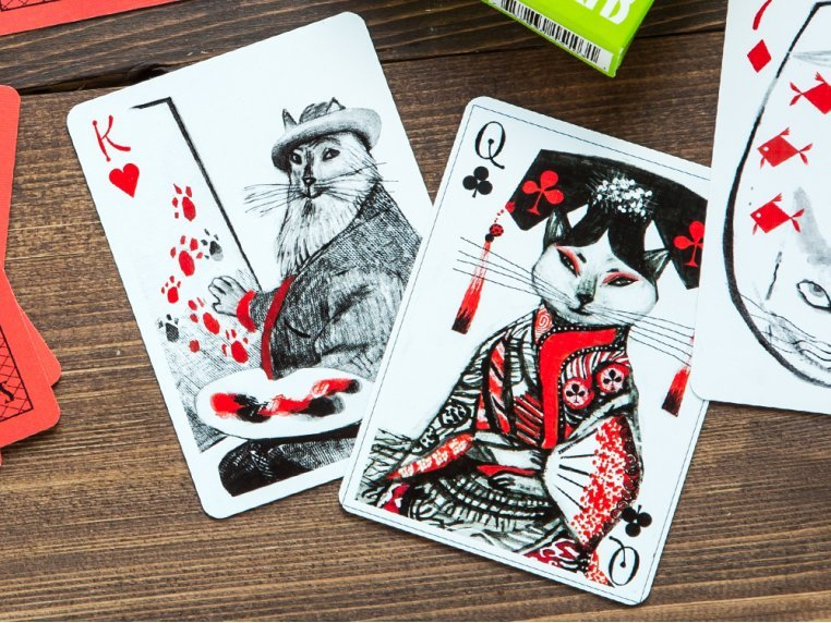 Kitten Club Playing Cards by Artiphany - 1