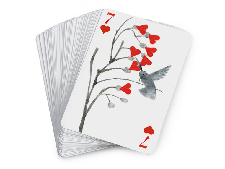 Flock of Birds Playing Cards by Artiphany - 5