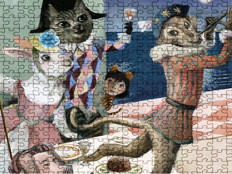 1000 Piece Musical Mosaic Puzzle by Artiphany - 2