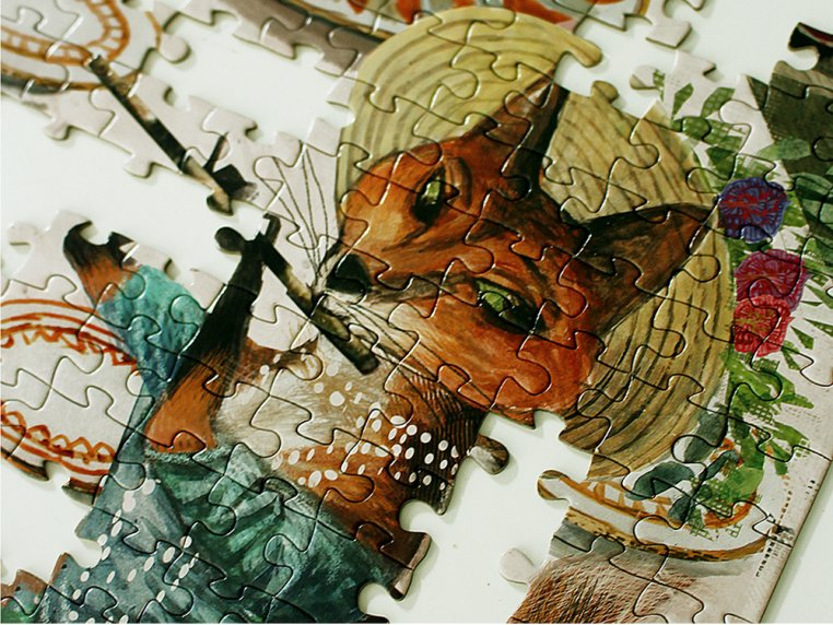 1000 Piece Musical Mosaic Puzzle by Artiphany - 3