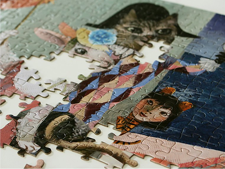 1000 Piece Musical Mosaic Puzzle by Artiphany - 4
