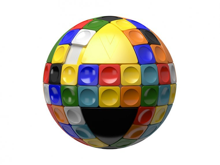 3D Puzzle Ball by V-Sphere - 4