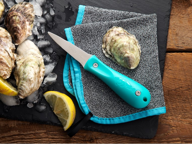 Ergonomic Oyster Shucker by Toadfish Outfitters - 1