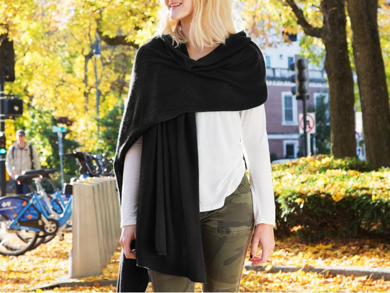 Cashmere Wrap by Quinn Apparel Inc. - 2