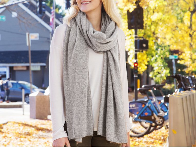Cashmere Wrap by Quinn Apparel Inc. - 1
