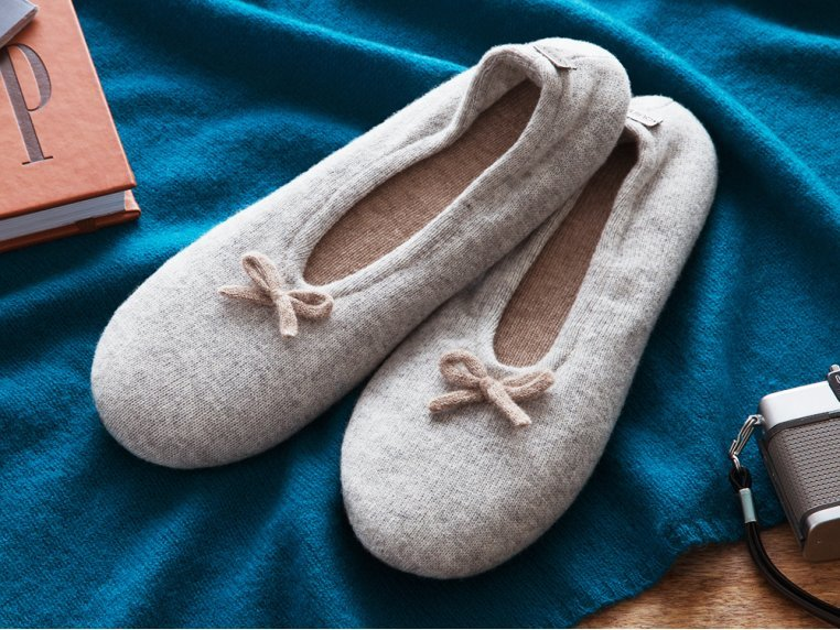 Cashmere Slippers by Quinn Apparel Inc. - 1
