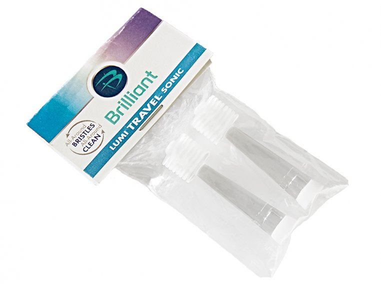 Brilliant Sonic Toothbrush Refill Heads by Compac Industries - 5