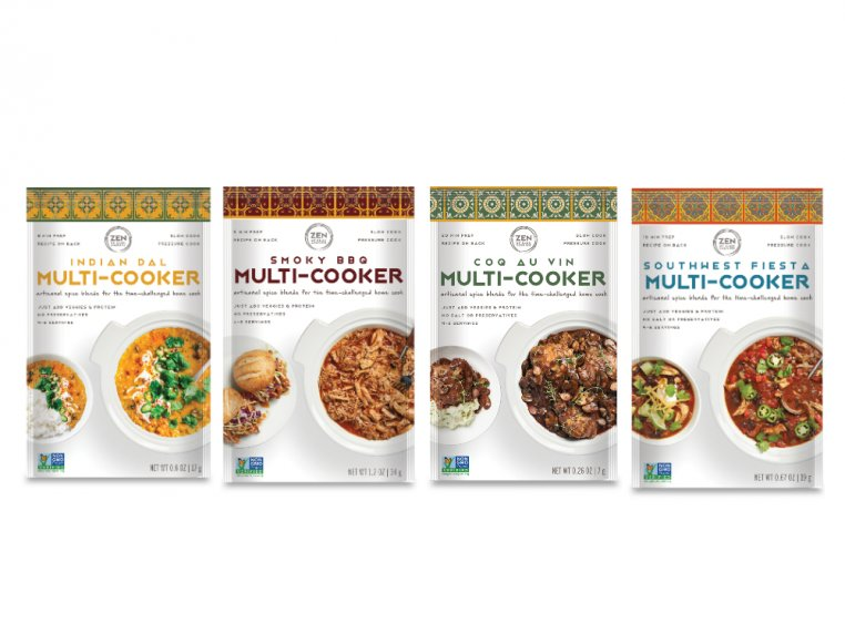 Multi Cooker Spice Blend - 4-Pack by Zen of Slow Cooking - 5