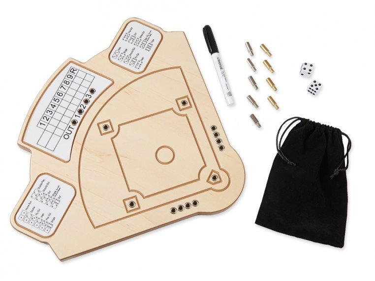 Wooden Tabletop Baseball  Game by Across The Board - 3