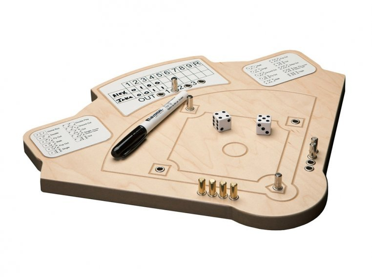 Wooden Tabletop Baseball  Game by Across The Board - 4