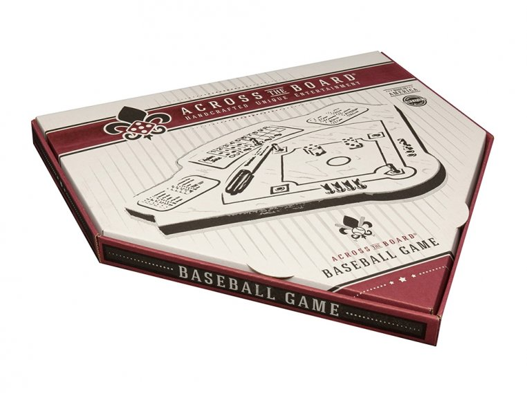 Wooden Tabletop Baseball  Game by Across The Board - 5