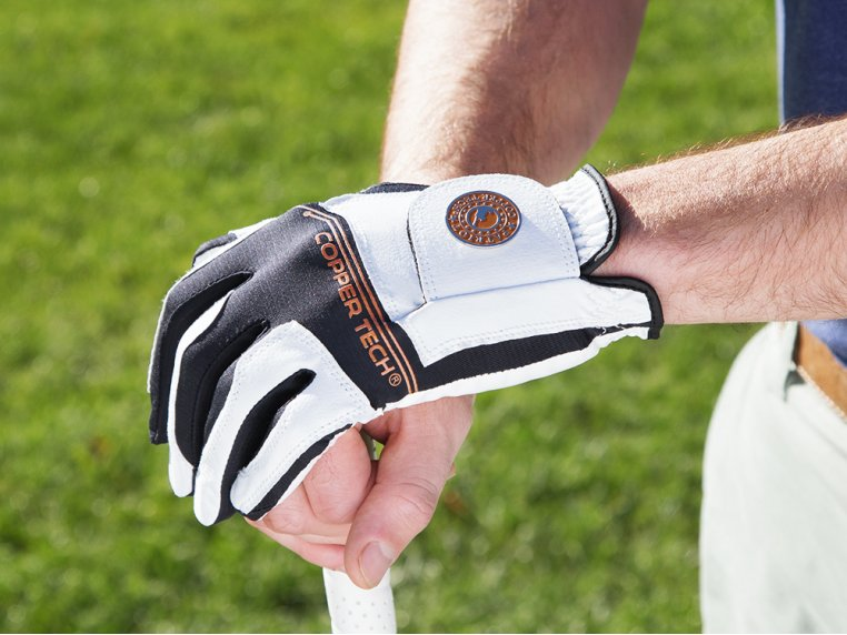 Men's Copper Infused Golf Glove by Copper Tech - 1