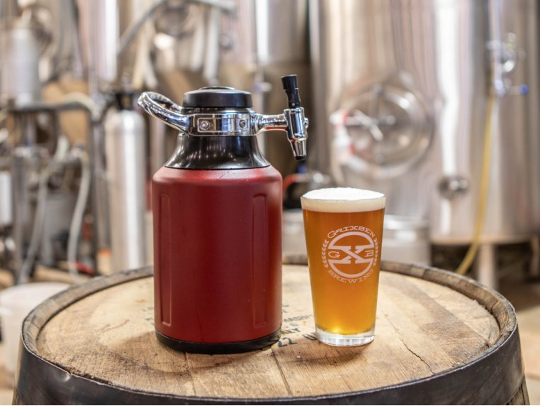 Portable Pressurized Growler by GrowlerWerks - 1