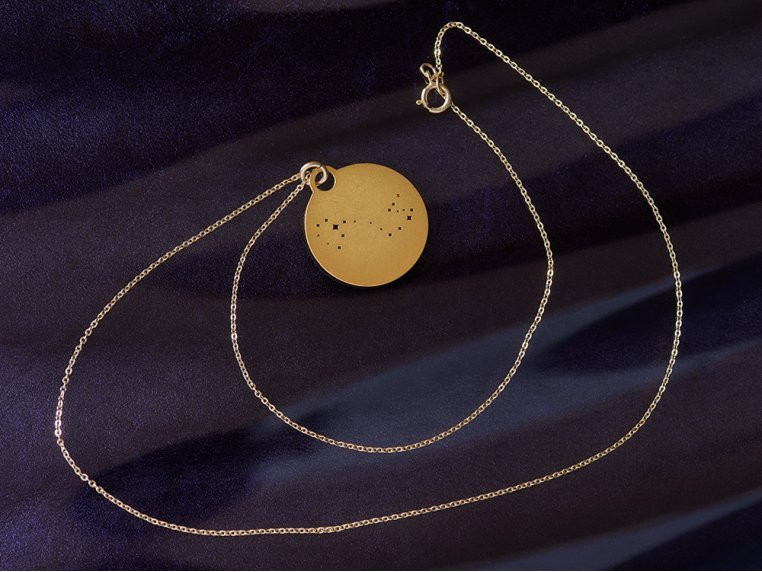 Zodiac Constellation Necklace by Outdoor Metalworks - 3