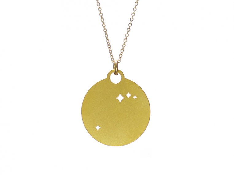 Zodiac Constellation Necklace by Outdoor Metalworks - 5