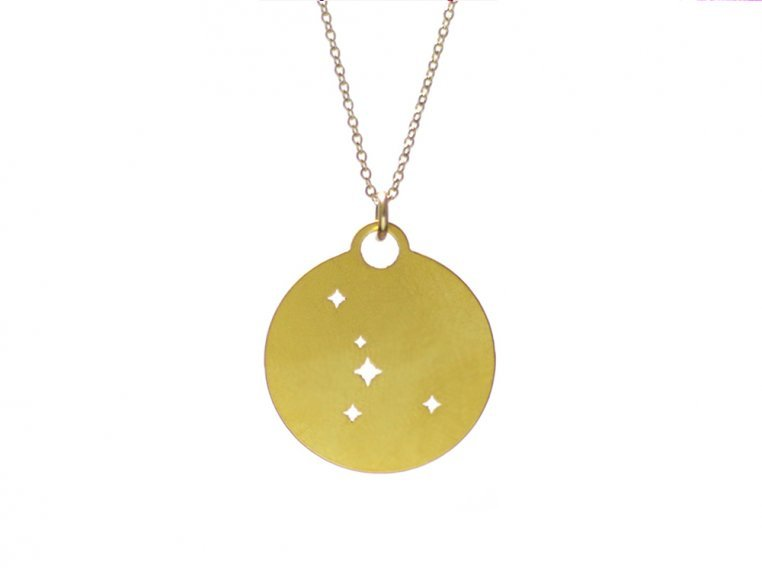 Zodiac Constellation Necklace by Outdoor Metalworks - 6
