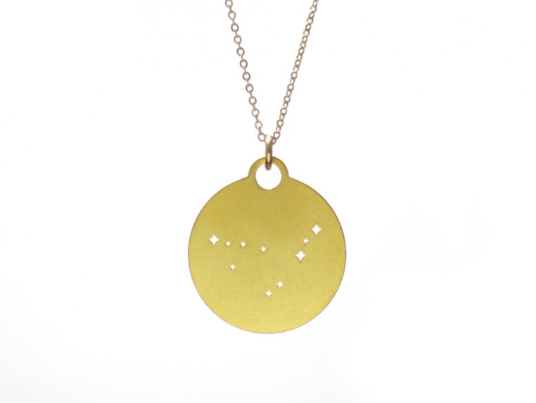 Zodiac Constellation Necklace by Outdoor Metalworks - 7