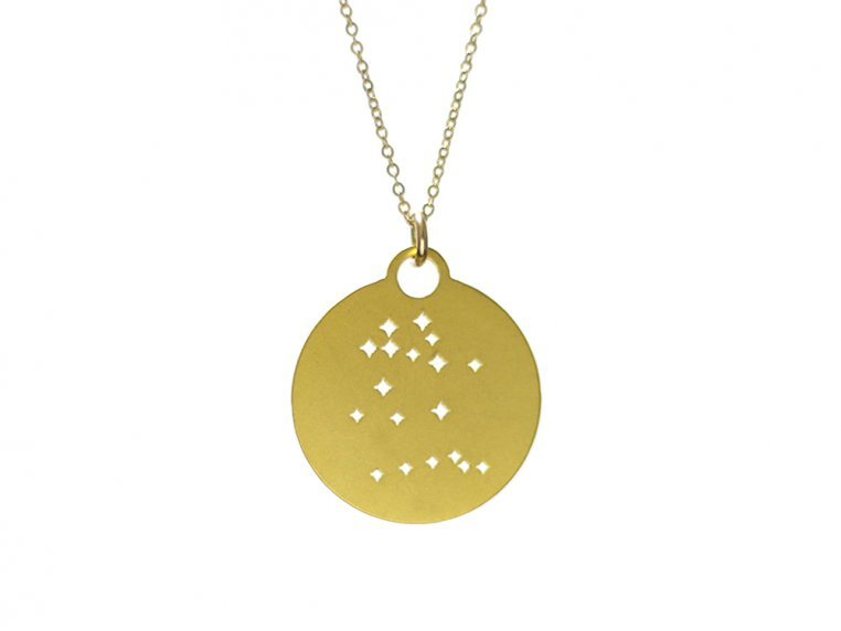 Zodiac Constellation Necklace by Outdoor Metalworks - 8