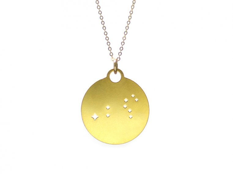 Zodiac Constellation Necklace by Outdoor Metalworks - 9