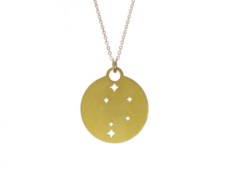 Zodiac Constellation Necklace by Outdoor Metalworks - 10
