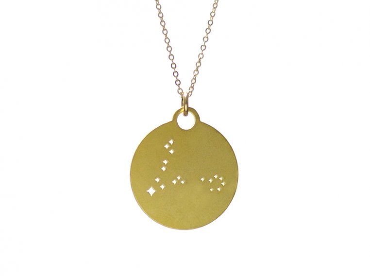 Zodiac Constellation Necklace by Outdoor Metalworks - 11