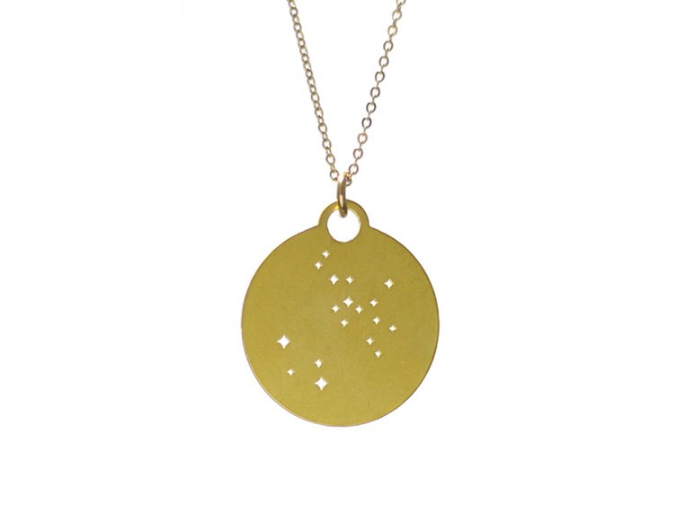 Zodiac Constellation Necklace by Outdoor Metalworks - 12