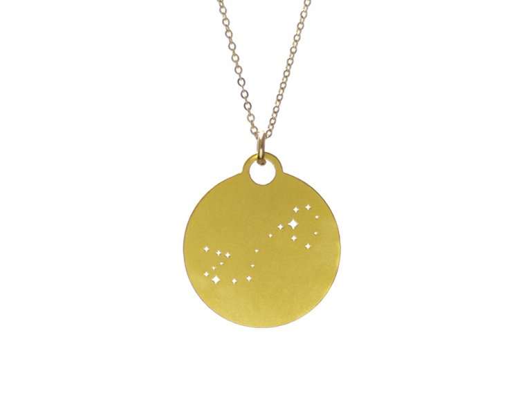 Zodiac Constellation Necklace by Outdoor Metalworks - 13