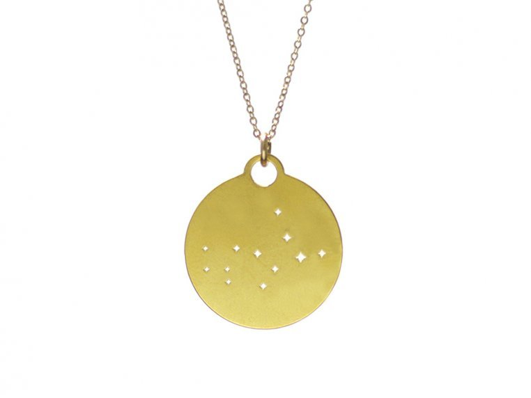 Zodiac Constellation Necklace by Outdoor Metalworks - 15