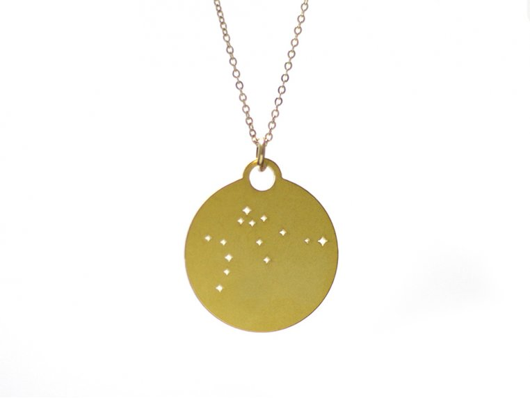 Zodiac Constellation Necklace by Outdoor Metalworks - 16