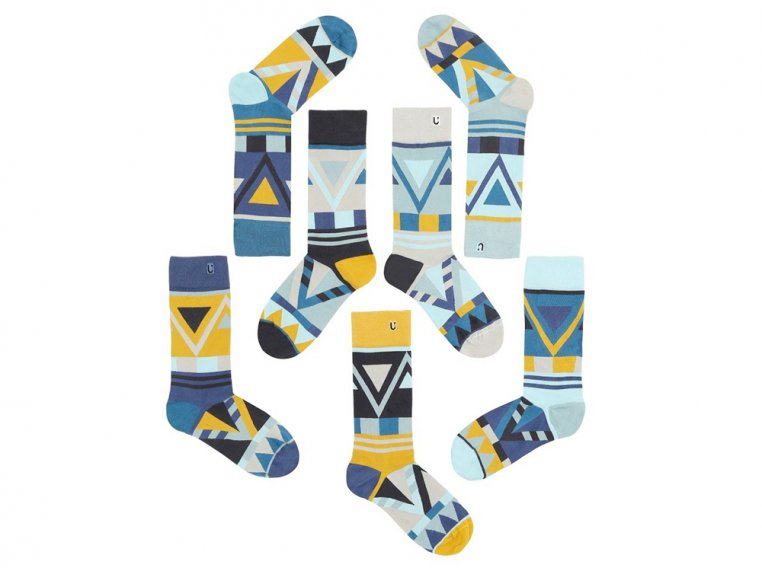 Set Of 7 Fun Socks For Men by SOLOSOCKS™ - 5