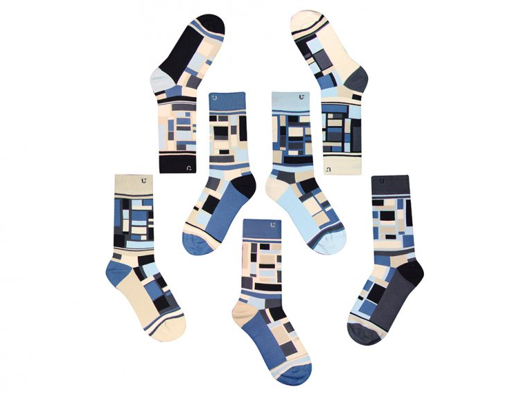 Set Of 7 Fun Socks For Men by SOLOSOCKS™ - 6