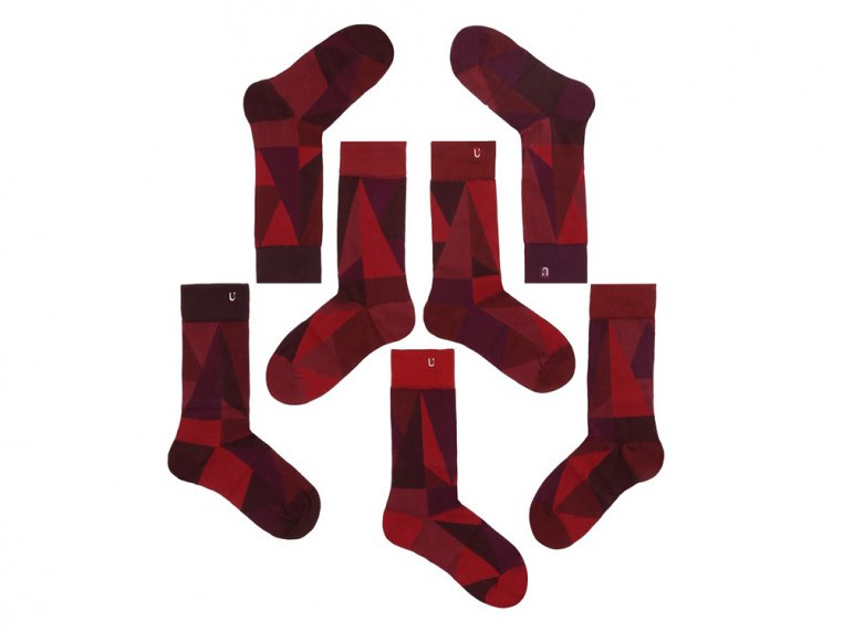 Set Of 7 Fun Socks For Men by SOLOSOCKS™ - 7