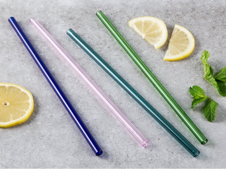 Straight Single Glass Straw by Strawesome - 3