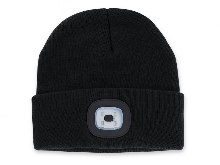 Women's Rechargeable LED Beanie Hat by Night Scout - 5