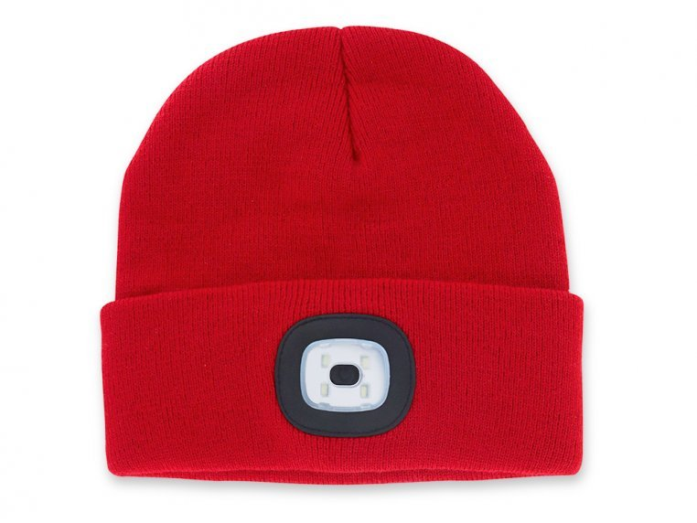 Women's Rechargeable LED Beanie Hat by Night Scout - 6