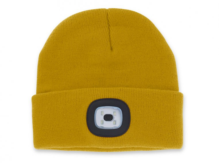 Women's Rechargeable LED Beanie Hat by Night Scout - 7
