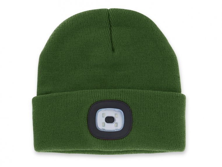 Women's Rechargeable LED Beanie Hat by Night Scout - 8
