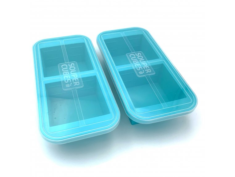 Soup & Stock Silicone Freezer Tray by Souper Cubes - 7