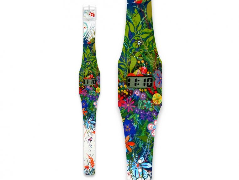 Tyvek Printed Watch - Wild Flowers by I Like Paper - 1