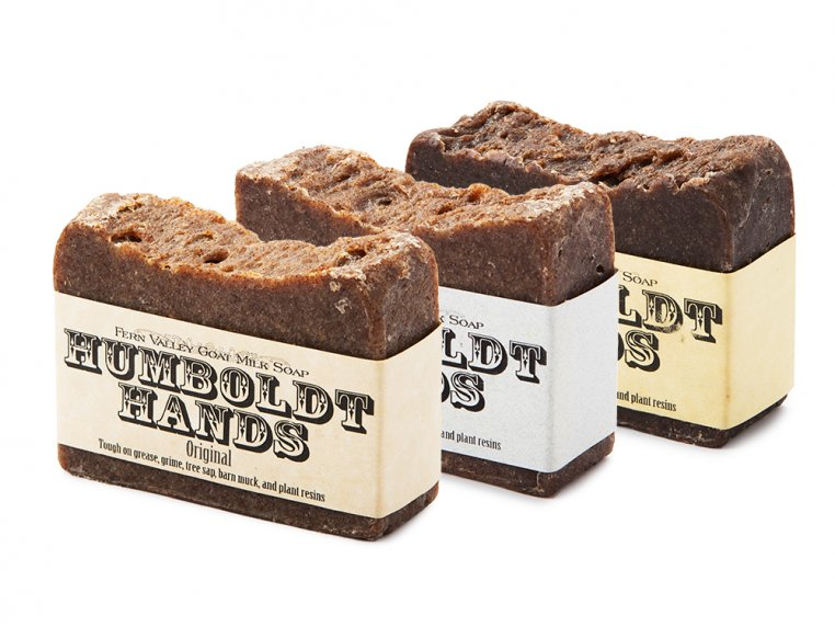 Goat Milk Soap - Trio Pack by Humboldt Hands - 6