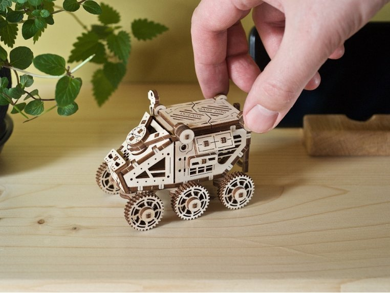 Mini Wooden Model Building Kit by UGEARS - 1