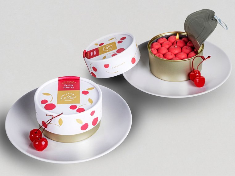 Scented Food Shaped Natural Wax Candles by 54Celsius - 2