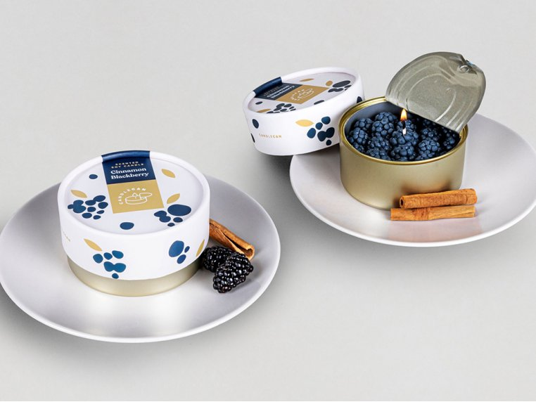 Scented Food Shaped Natural Wax Candles by 54Celsius - 3