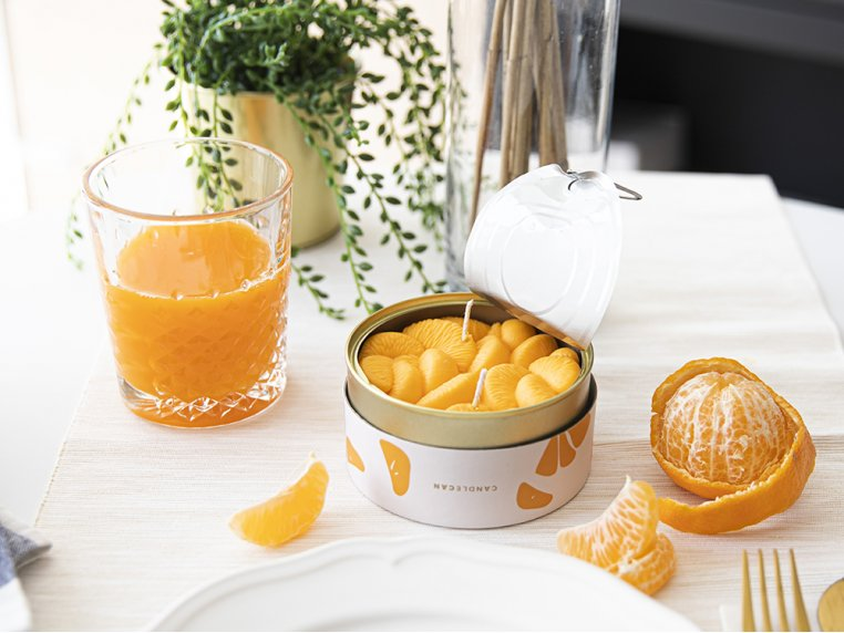 Scented Food Shaped Natural Wax Candles by 54Celsius - 1