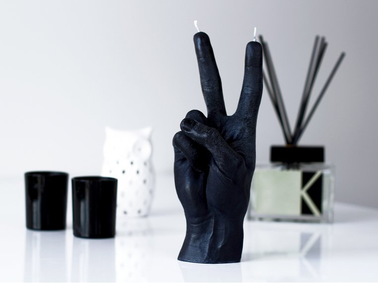 Hand Gesture Candle by 54Celsius - 2