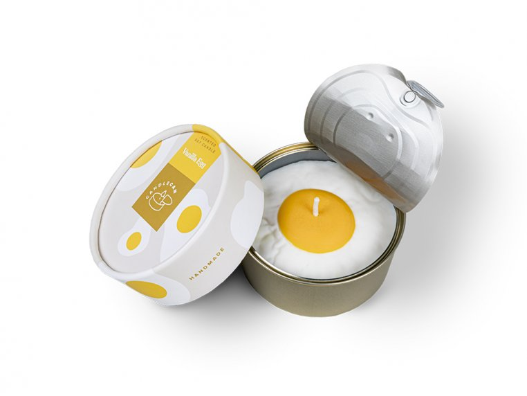 Scented Food Shaped Natural Wax Candles by 54Celsius - 6