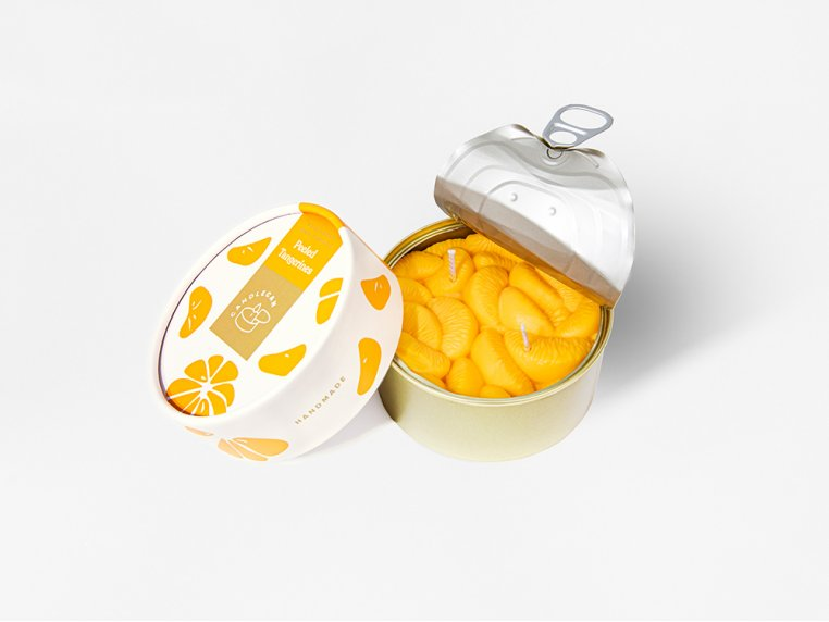 Scented Food Shaped Natural Wax Candles by 54Celsius - 9