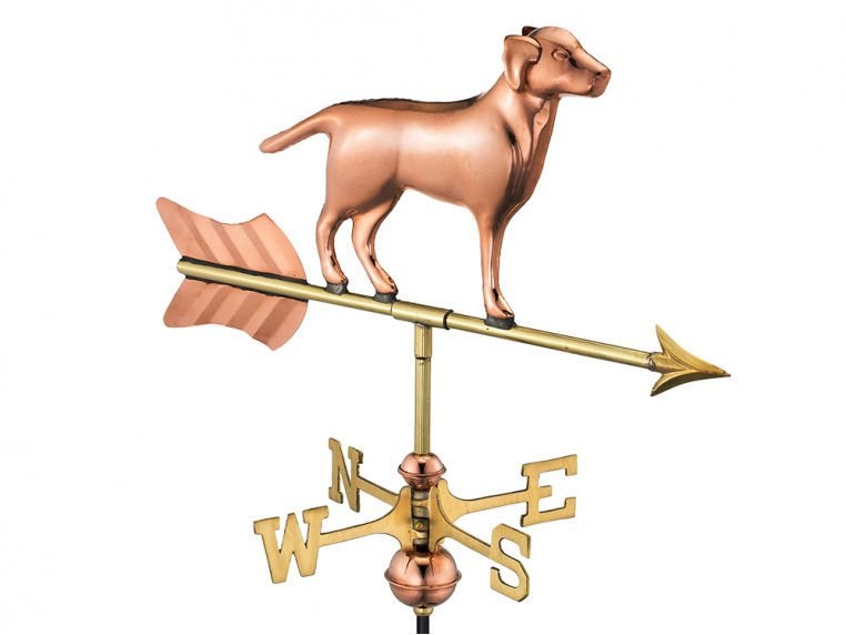 100% Copper Cottage Size Weathervane by Good Directions - 9