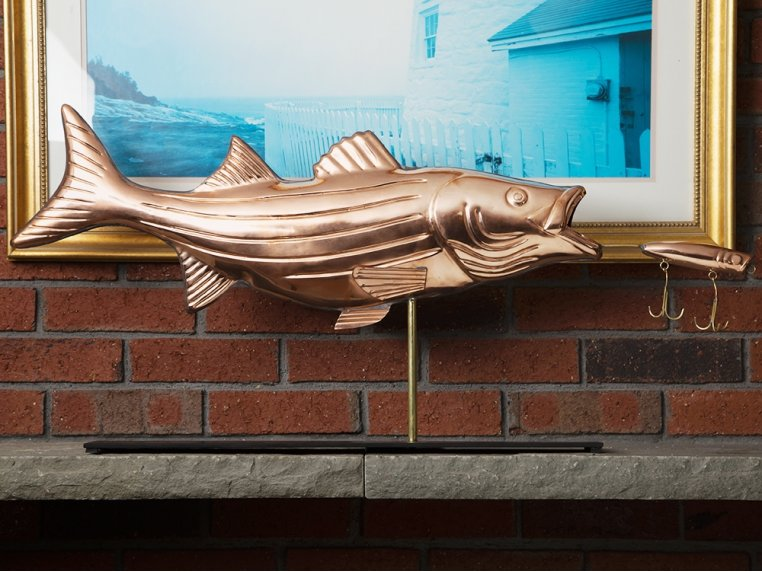 100% Copper Mantle Sculpture by Good Directions - 2